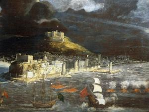 View of Naples from the Sea by Francois Gerard