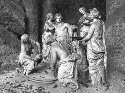 Apollo Tended by the Nymphs in the Grove of the Baths of Apollo