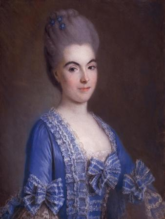 Portrait of Lady in Blue