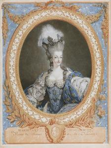 Marie Antoinette, Queen of France by Francois Janiuet