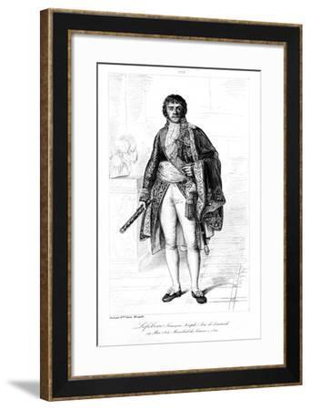 Francois Joseph Lefebvre (1755-182), Duc De Dantzig, 1839-Francois Pigeot-Framed Giclee Print