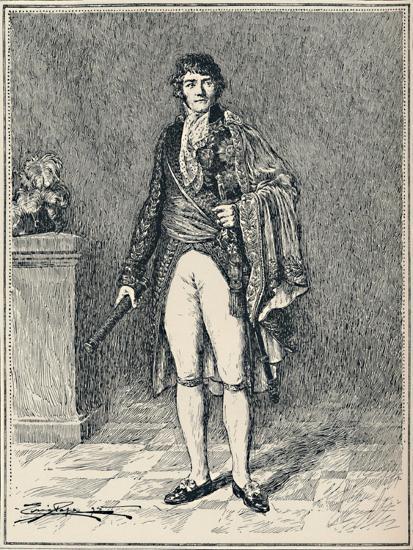 'Francois-Joseph Lefebvre - Duke of Dantzic', c1806, (1896)-Unknown-Giclee Print