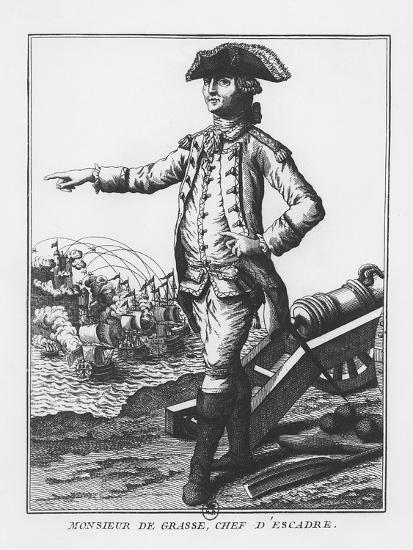 François-Joseph Paul, Comte De Grasse--Giclee Print