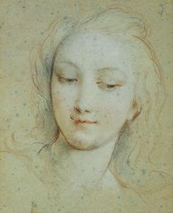 The Head of Venus by Francois Lemoyne