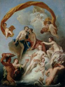 The Toilet of Venus by Francois Lemoyne