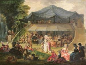 Fete at Colisee Near Lille, C.1791 by Francois Louis Joseph Watteau
