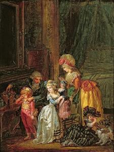 St. Nicholas's Day by Francois Louis Joseph Watteau