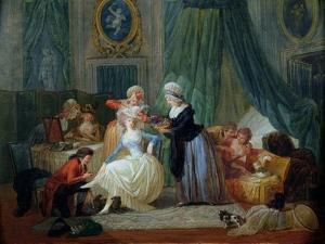 The Toilet by Francois Louis Joseph Watteau