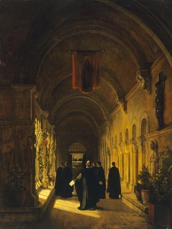 Abelard in Cloister, 1820-1830