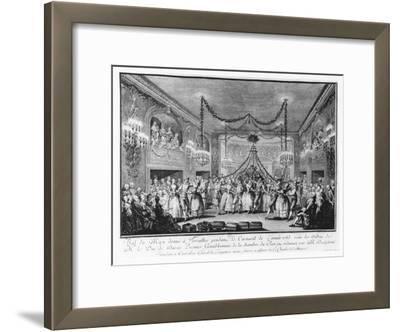 May Ball at Versailles During the Carnival of 1763