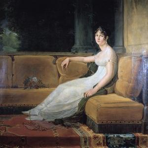 Empress Josephine at Malmaison, C1801 by Francois Pascal Simon Gerard