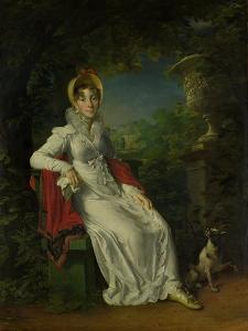 Marie Caroline Ferdinande Louise De Naples, Wife of Duke De Berry by Francois Pascal Simon Gerard