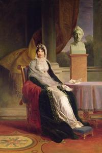 Marie-Laetitia Ramolino (1750-1836) 1803 by Francois Pascal Simon Gerard