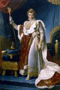 Napoleon I Emperor of France, 1804 by Francois Pascal Simon Gerard