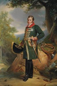 Portrait of Charles-Ferdinand D'Artois, Duc De Berry by Francois Pascal Simon Gerard
