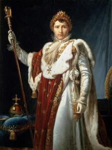 Portrait of Emperor Napoléon I Bonaparte, C1804 by Francois Pascal Simon Gerard