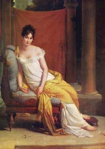 Portrait of Julie Récamier, 1802 by Francois Pascal Simon Gerard