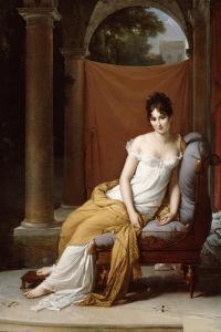 Portrait of Juliette Recamier, 1805 by Francois Pascal Simon Gerard
