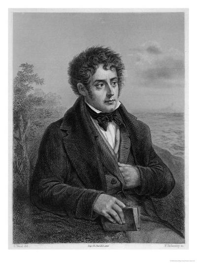 Francois-Rene Vicomte De Chateaubriand French Writer of Romantic Leanings- Delanoy-Giclee Print