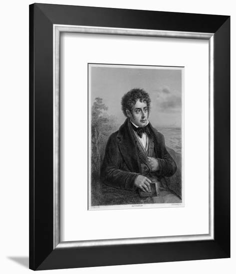 Francois-Rene Vicomte De Chateaubriand French Writer of Romantic Leanings- Delanoy-Framed Giclee Print