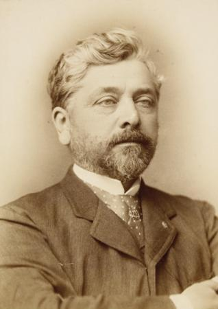 Gustave Eiffel, Chest, Right Arm Folded across Chest by François Touranchet