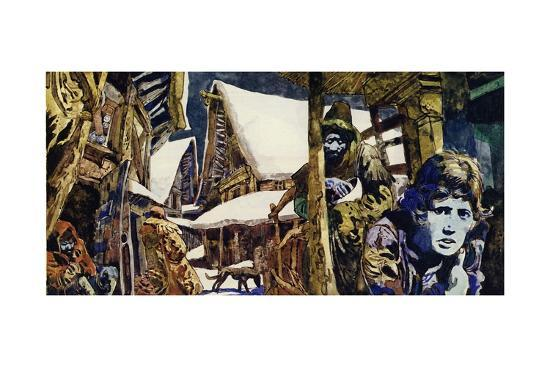 Francois Villon Grew Up in Poverty in Paris--Giclee Print