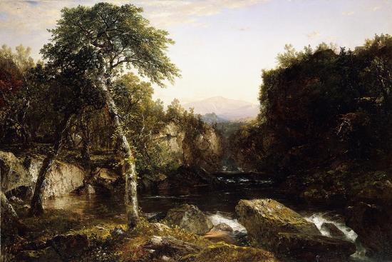 Franconia Mountains, 1854-John Frederick Kensett-Giclee Print