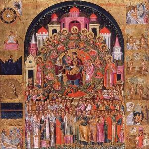 In Thee Rejoiceth All Creation by Franghias Kavertsas