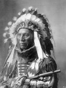 Conquering Bear, Oglala Sioux, 1899 by Frank A. Rinehart