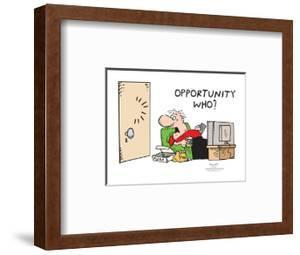 Pizza.  Chips.  Opportunity who? by Frank and Ernest