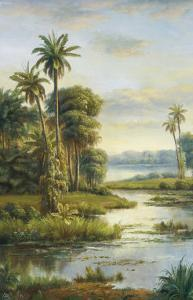 Island Serenity I by Frank Bellows