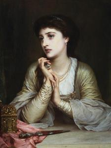 Juliet's Last Thoughts by Frank Bernard Dicksee