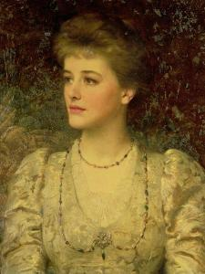 Lady Palmer by Frank Bernard Dicksee