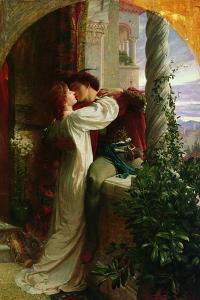 Romeo and Juliet, 1884 by Frank Bernard Dicksee