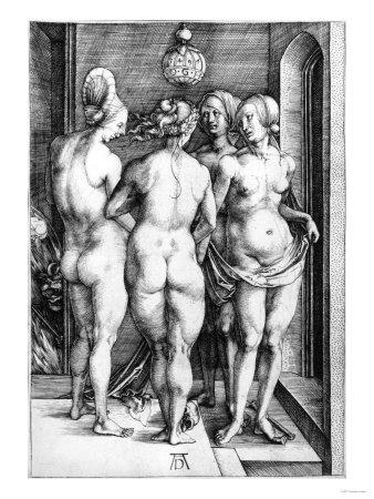 Four Naked Women or the Witches, 1497