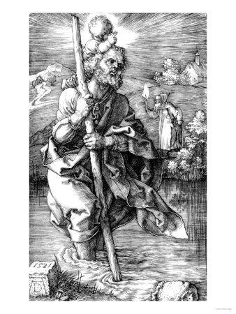 Saint Christopher Facing Right, 1521