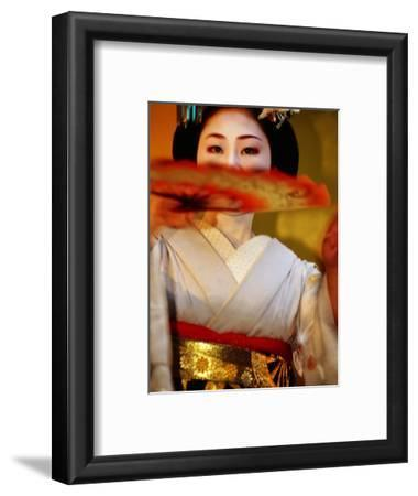 Maiko Dancer, Kyoto, Japan