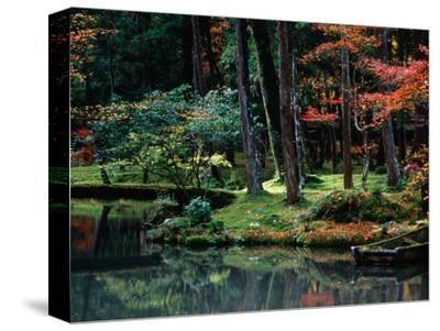Saiho-Ji Garden in Autumn, Kyoto, Japan