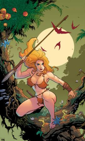 Shanna The She-Devil No.1 Cover: Shanna The She-Devil