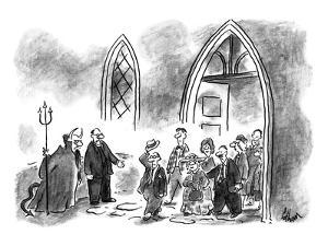 """""""O.K., they're yours, but I still don't know where you got that fourth ace - New Yorker Cartoon by Frank Cotham"""