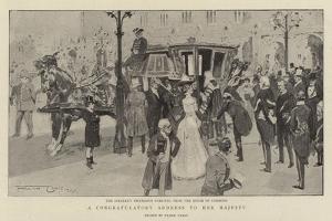 A Congratulatory Address to Her Majesty by Frank Craig