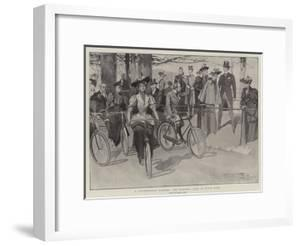 A Fashionable Pastime, the Morning Ride in Hyde Park by Frank Craig