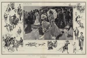 A Great Society Gathering, Royal Ascot in Coronation Year by Frank Craig