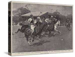 A New Polo Ground for Londoners, a Match at the Wimbledon Park Polo Club by Frank Craig