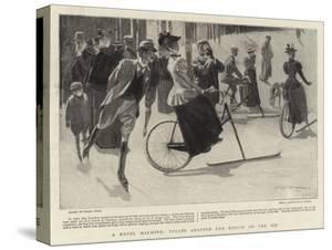 A Novel Machine, Cycles Adapted for Riding on the Ice by Frank Craig