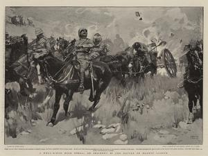 A Well-Aimed Boer Shell, an Incident in the Battle of Elands Laagte by Frank Craig