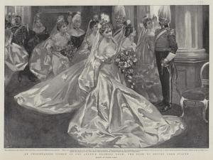 An Unrehearsed Effect at the Queen's Drawing Room, the Rush to Secure Good Places by Frank Craig