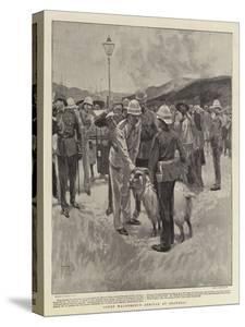 Count Waldersee's Arrival at Shanghai by Frank Craig