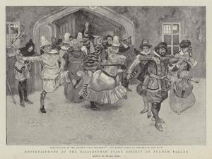 Entertainment by the Elizabethan Stage Society at Fulham Palace by Frank Craig