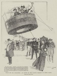 Fresh Air for Londoners, an Ascent in the Captive Balloon at Earl's Court by Frank Craig